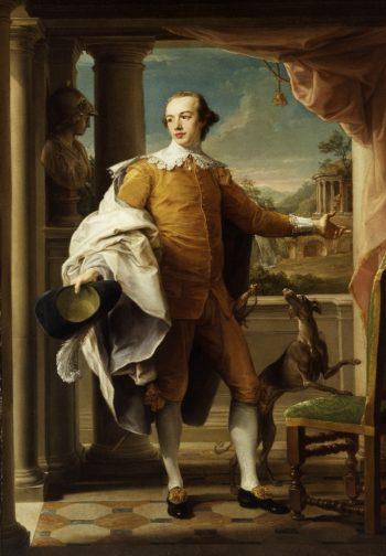 Portrait of Sir Wyndham Knatchbull-Wyndham | Pompeo Batoni | oil painting