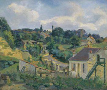 La Route Tournante 1877 | Armand Guillaumin | oil painting