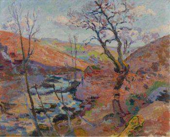 Le Clos des Bouchardons 1905 | Armand Guillaumin | oil painting