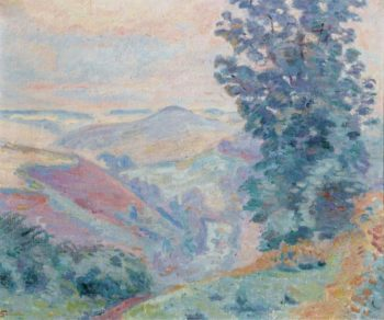Le Puy Bariou 1918 | Armand Guillaumin | oil painting