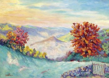 Le Puy Barriou 1908   Armand Guillaumin   oil painting