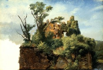 Landscape with Ruins | Pierre-Henri de Valenciennes | oil painting