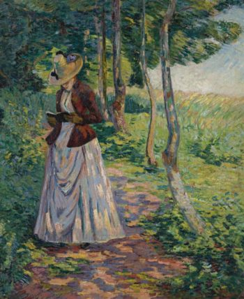 Madame Guillaumin 1885   Armand Guillaumin   oil painting