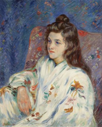 Madame Guillaumin 1901   Armand Guillaumin   oil painting