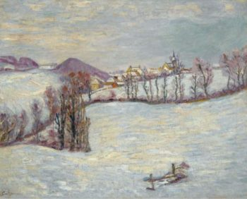 Saint Samuel in Winter | Armand Guillaumin | oil painting