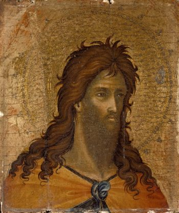 St. John the Baptist (fragment) | Paolo Veneziano | oil painting