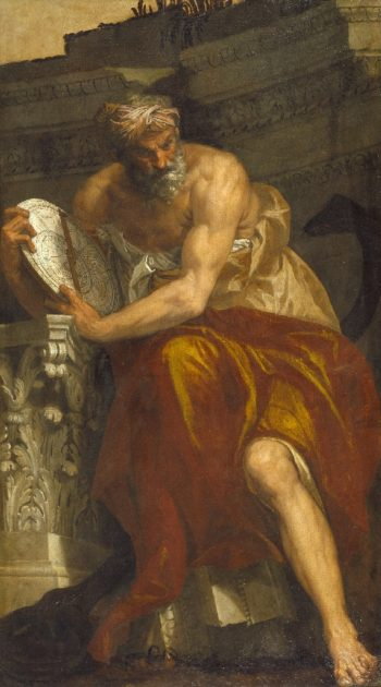Allegory of Navigation with an Astrolabe Ptolemy | Paolo Caliari Veronese | oil painting