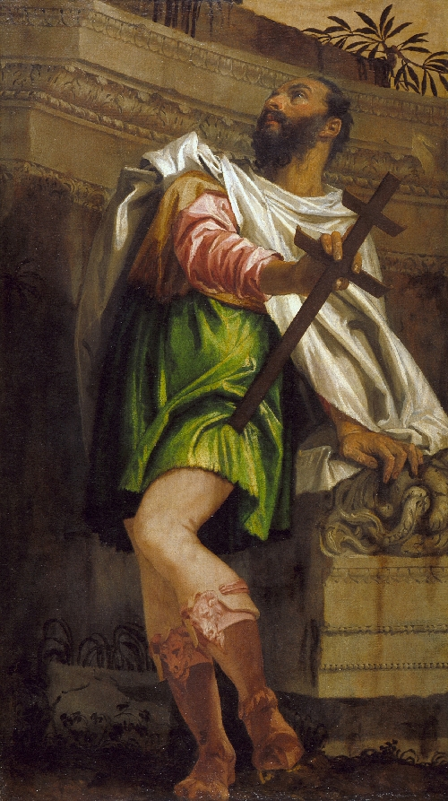 Allegory of Navigation with a Cross-Staff Averroes   Paolo Caliari Veronese   oil painting