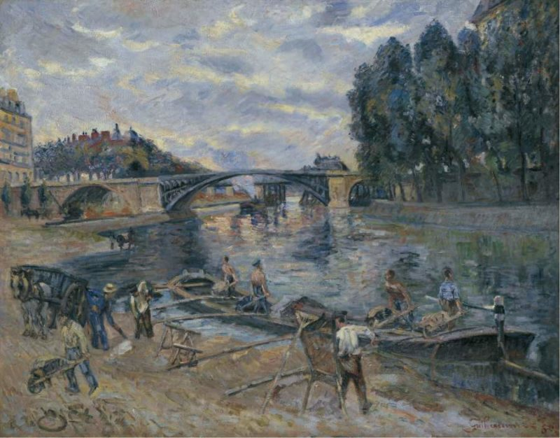 The Bridge of Sully Paris 1886 | Armand Guillaumin | oil painting