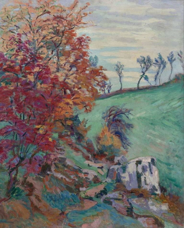 The Creuse 1902 | Armand Guillaumin | oil painting