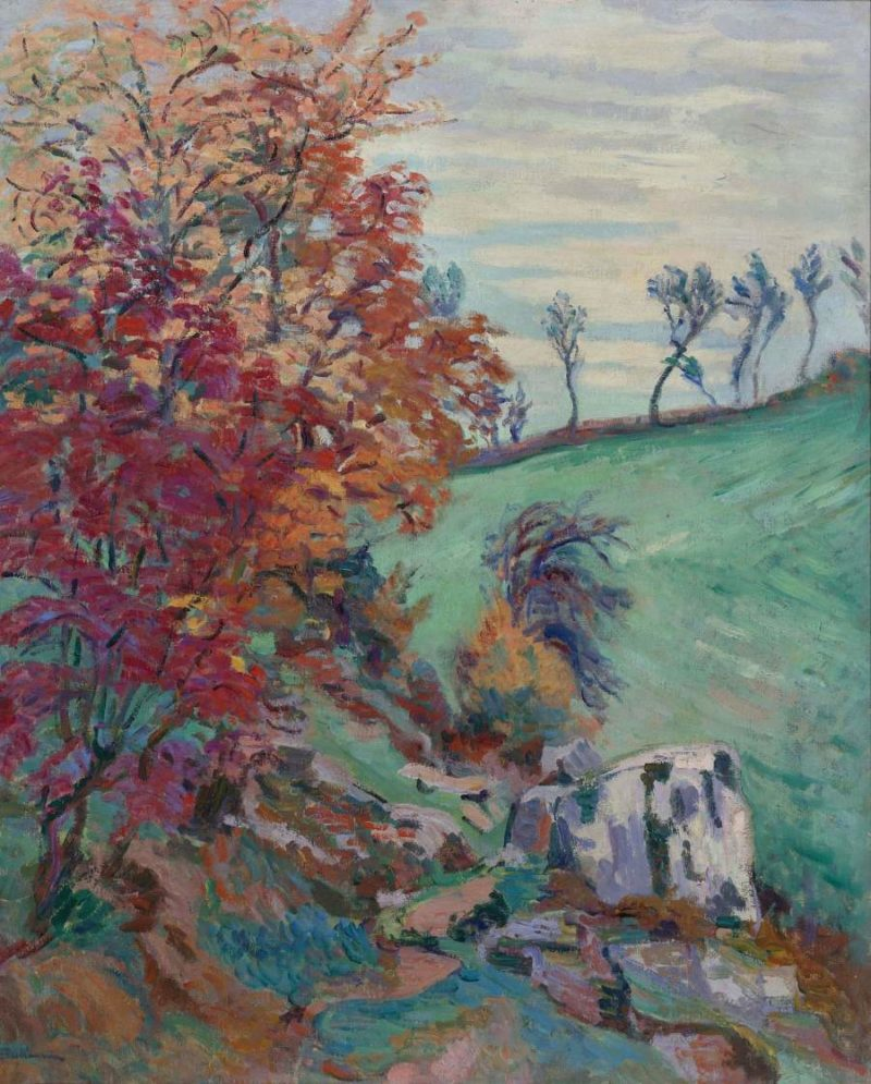 The Creuse 1902   Armand Guillaumin   oil painting