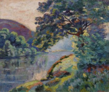 The Echo Rock | Armand Guillaumin | oil painting