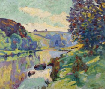 The Echo Rock at Crozant 1905 | Armand Guillaumin | oil painting