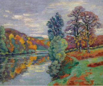 The Echo Rock Crozant 1913 | Armand Guillaumin | oil painting