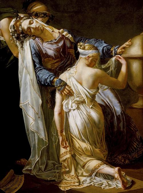 Hecuba and Polyxena | Merry-Joseph Blondel | oil painting