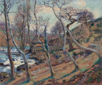 The Mill Bouchardon 1900 | Armand Guillaumin | oil painting