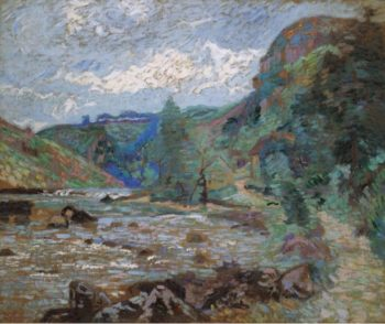 The Mill of Bouchardon Crozant 1905 | Armand Guillaumin | oil painting