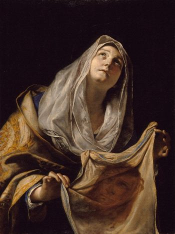 Saint Veronica with the Veil | Mattia Preti | oil painting