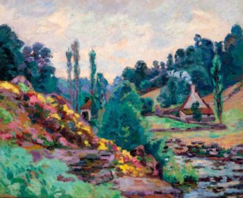 The Mill of Jonon Creuse 1906 | Armand Guillaumin | oil painting