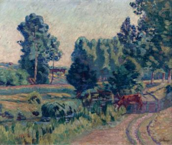 The Outskirts of Saint Cheron 1901 | Armand Guillaumin | oil painting