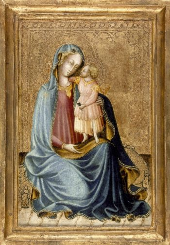 Madonna and Child | Master of the Bargello Judgment of Paris | oil painting