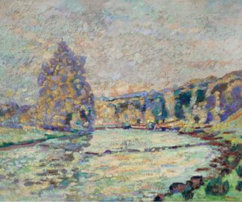 The River of Creuse at Genetin 1905 | Armand Guillaumin | oil painting