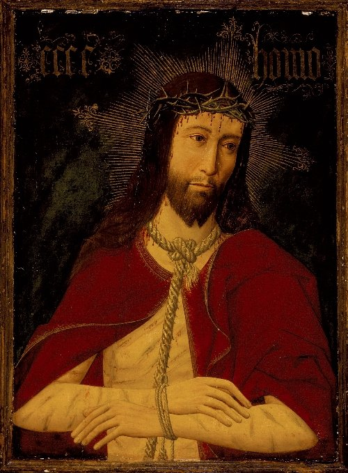 Christ with the Crown of Thorns | Master of Osma | oil painting