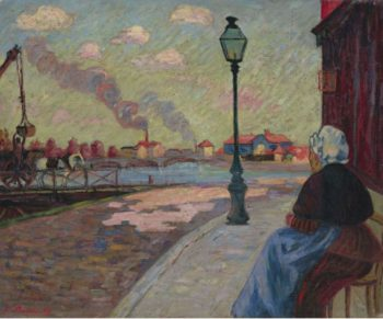 The Seine at Charenton 1875 | Armand Guillaumin | oil painting