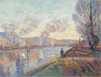 The Seine at Rouen 1890 | Armand Guillaumin | oil painting