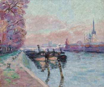 The Seine at Rouen 1898 | Armand Guillaumin | oil painting