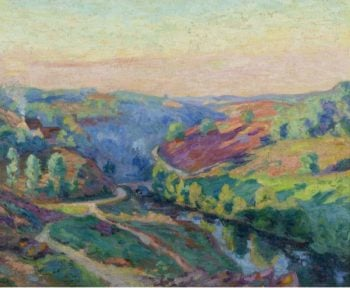 The Valley of Creuse | Armand Guillaumin | oil painting