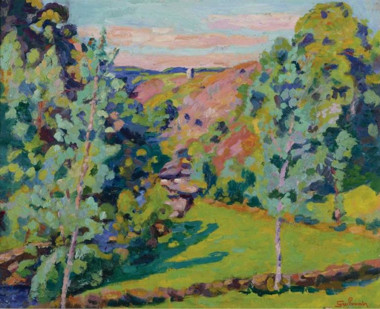 The Valley of Sedelle 1920 | Armand Guillaumin | oil painting