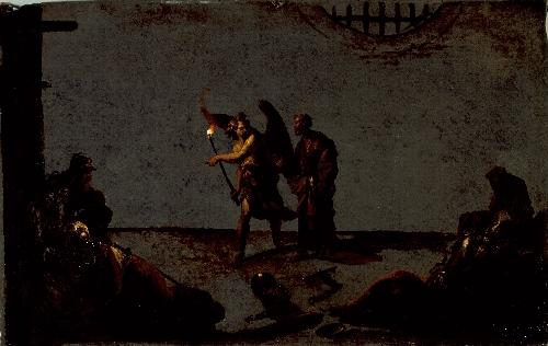 The Liberation of Saint Peter   Leonard Bramer   oil painting