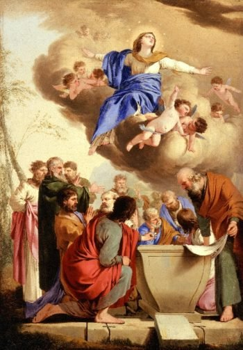 The Assumption | Laurent de La Hyre | oil painting