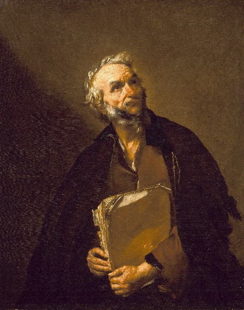 A Philosopher | Jusepe de Ribera | oil painting