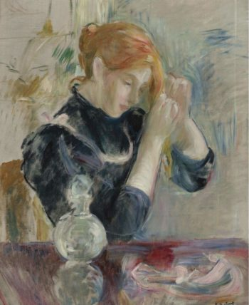 By the Toilette | Berthe Morisot | oil painting