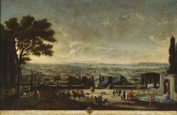 View of the City and Roads of Toulon (Vista de la villa y rada de Tolon)   Juan Patricio Morlete Ruiz   oil painting