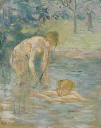 The Bathers 1892 | Berthe Morisot | oil painting