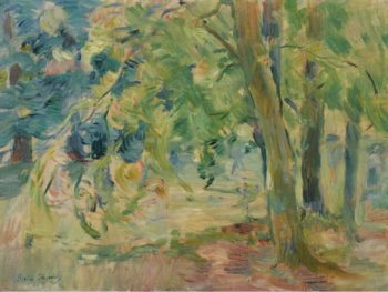 The Forest of Mesnil 1892 | Berthe Morisot | oil painting