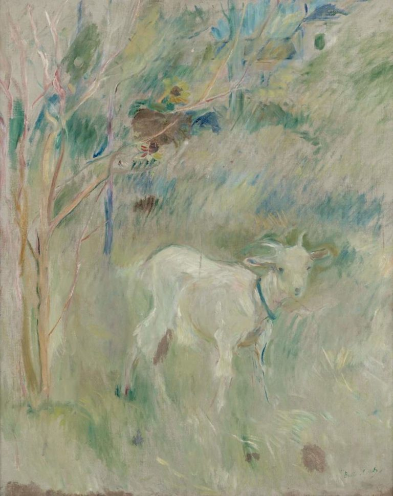 The Kidd   Berthe Morisot   oil painting