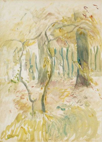 The Thicket 1894 | Berthe Morisot | oil painting