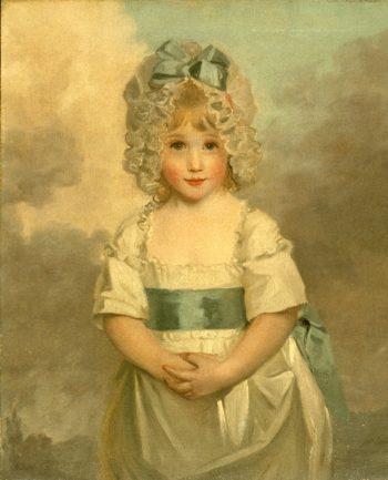 Miss Charlotte Papendick as a Child | John Hoppner | oil painting