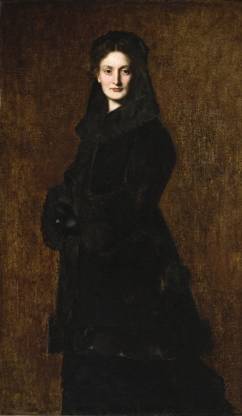 Portrait of Madame Paul Duchesne-Fournet | Jean-Jacques Henner | oil painting