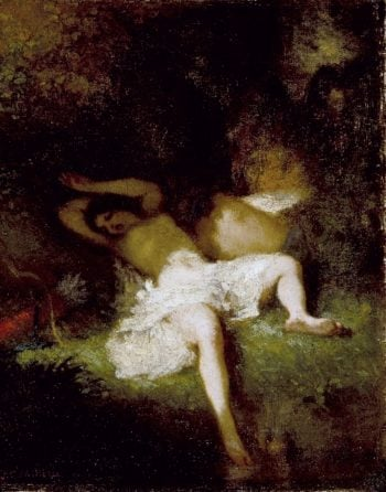 Diana Resting | Jean-Francois Millet | oil painting