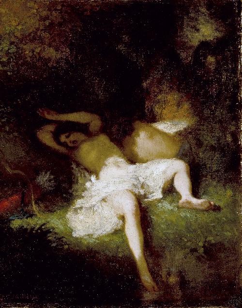 Diana Resting | Jean-Francois Millet | oil painting