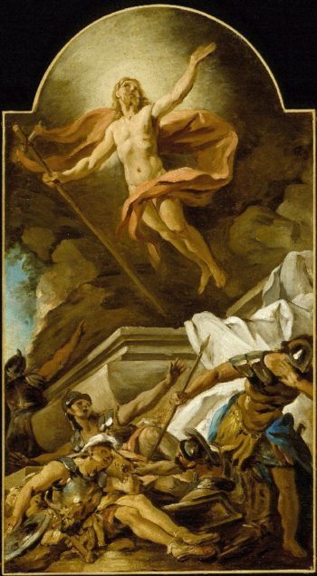 The Resurrection | Jean-Francois De Troy | oil painting