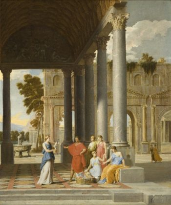 Achilles Discovered Among the Daughters of Lycomedes | Jean Lemaire | oil painting