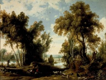 Landscape with Peasants | Jan Wildens | oil painting