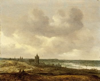 View of Arnhem | Jan van Goyen | oil painting