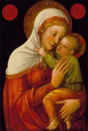 Madonna and Child | Jacopo Bellini | oil painting